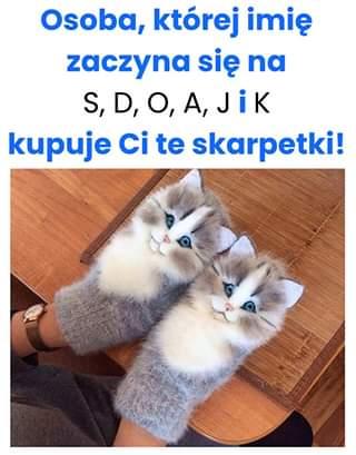 Skarpetki w kotki